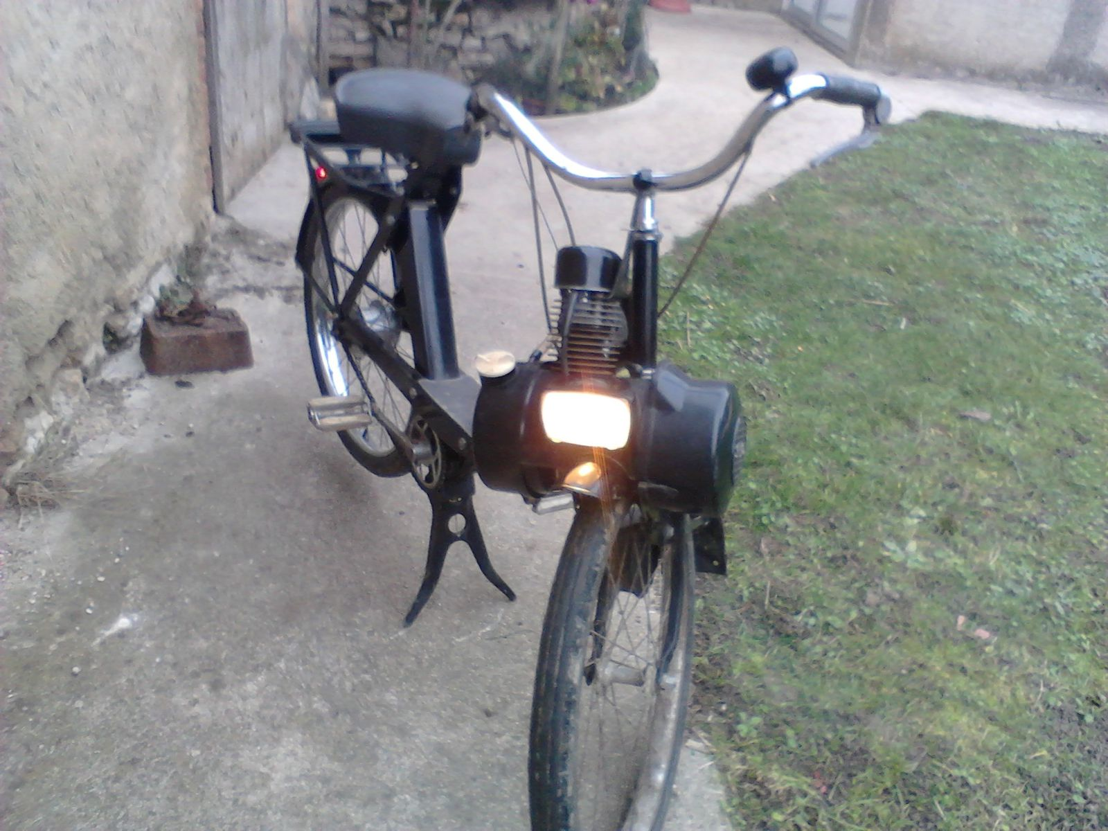 Fabrication lame de masse Solex
