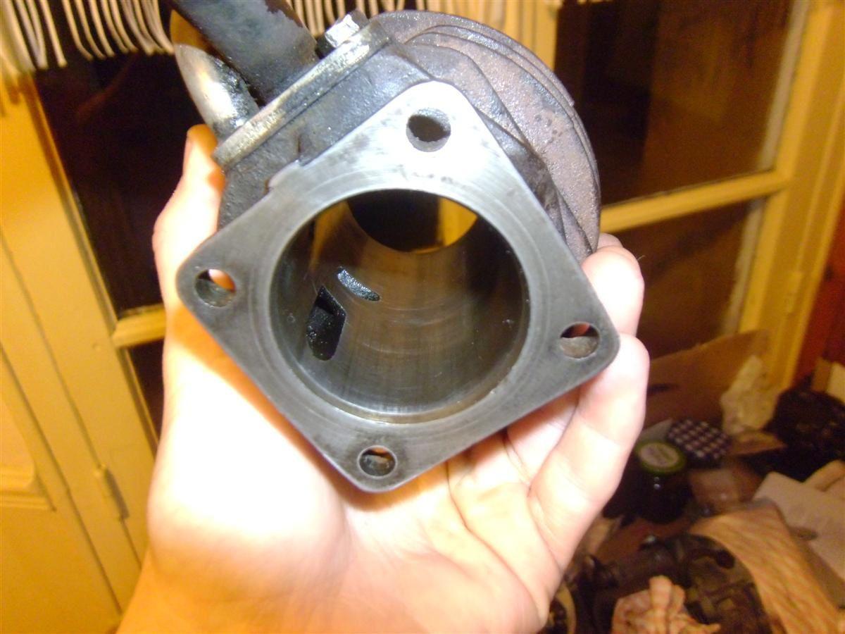 cylindre Solex partiellement déglacé