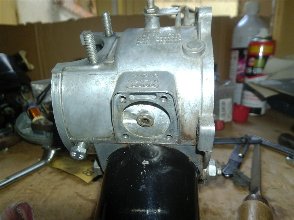refection moteur solex 3800
