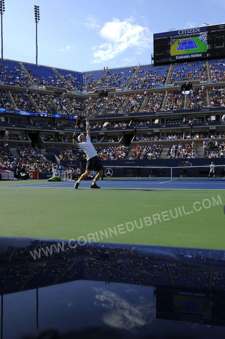 US OPEN, DAY ONE!