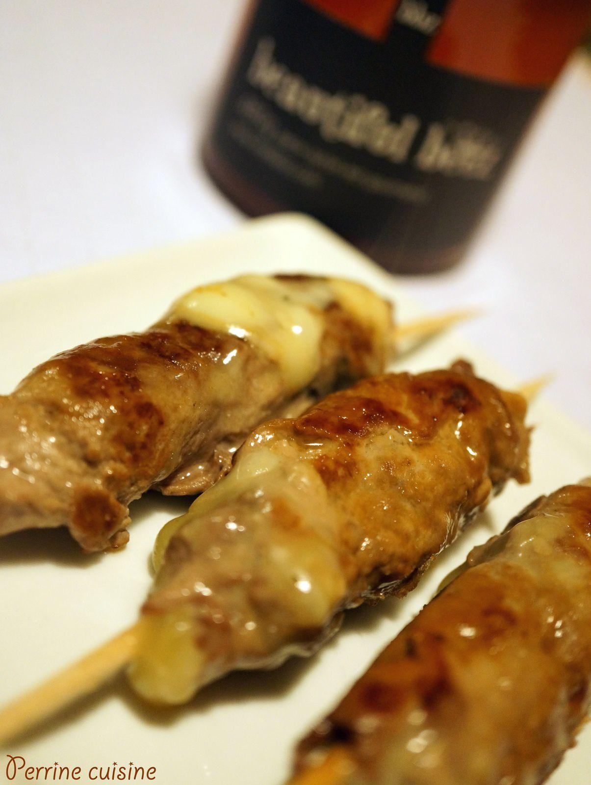 Brochettes japonaises au miel de Bourdaine Beautiful Beez