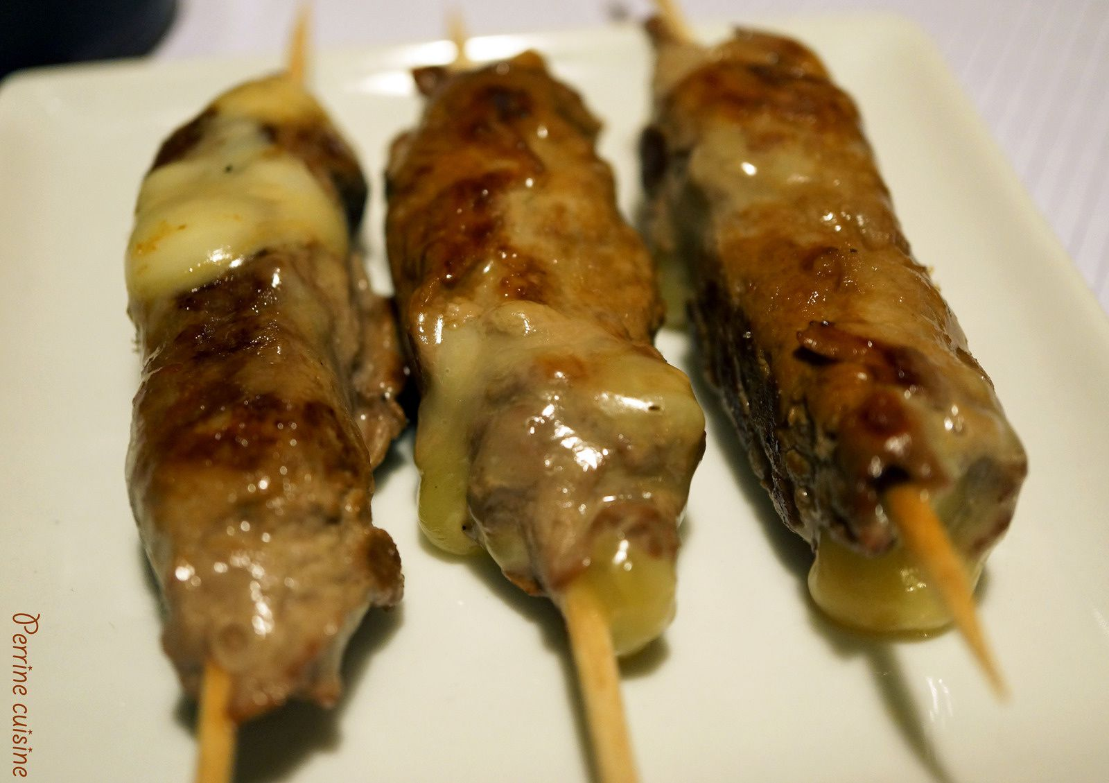 Brochettes japonaises au miel de Bourdaine Beautiful Beez