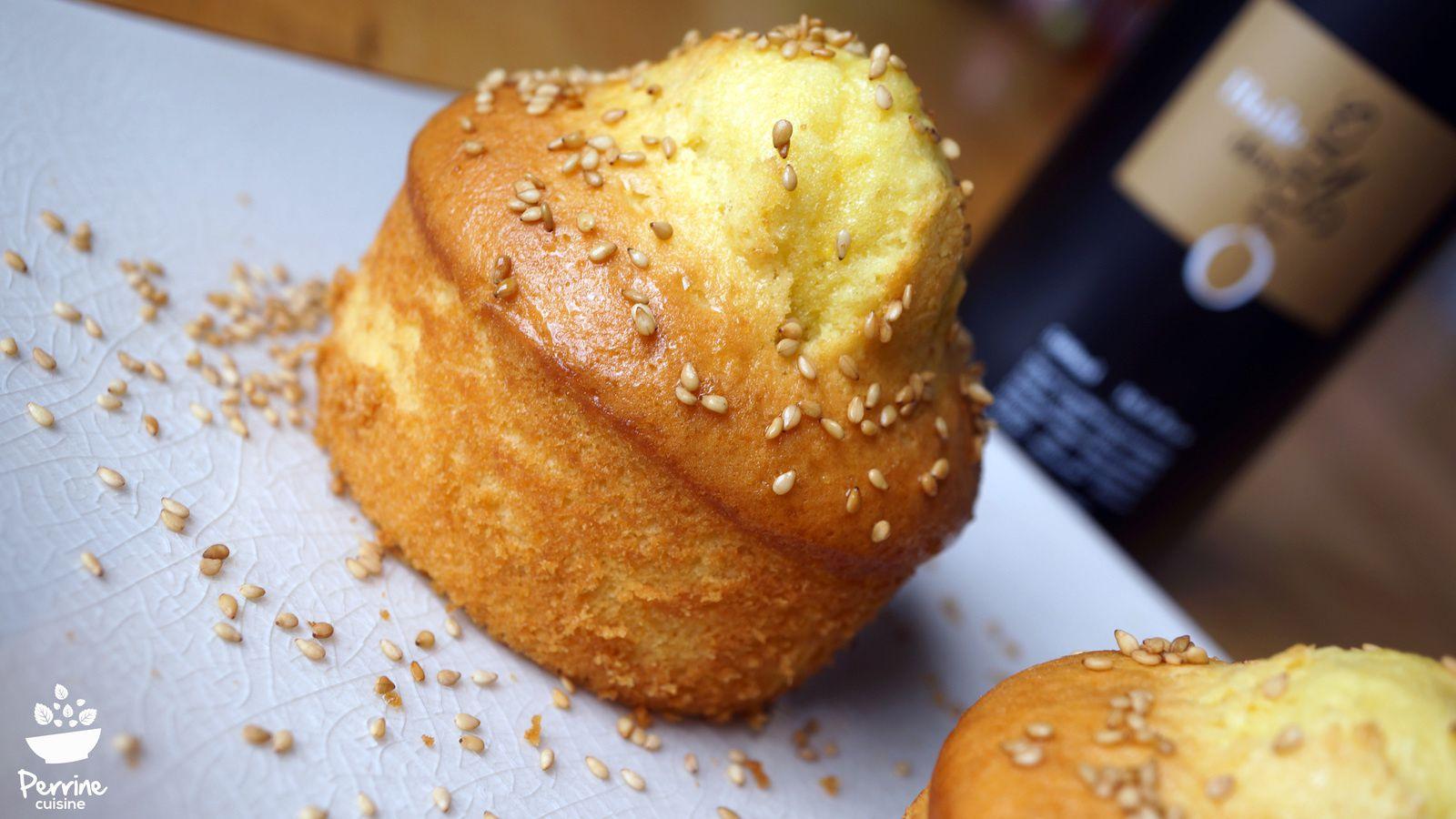 G teaux l huile d olive c ur rhubarbe et s same toast partenariat huile des orgues - Gateau a l huile ...