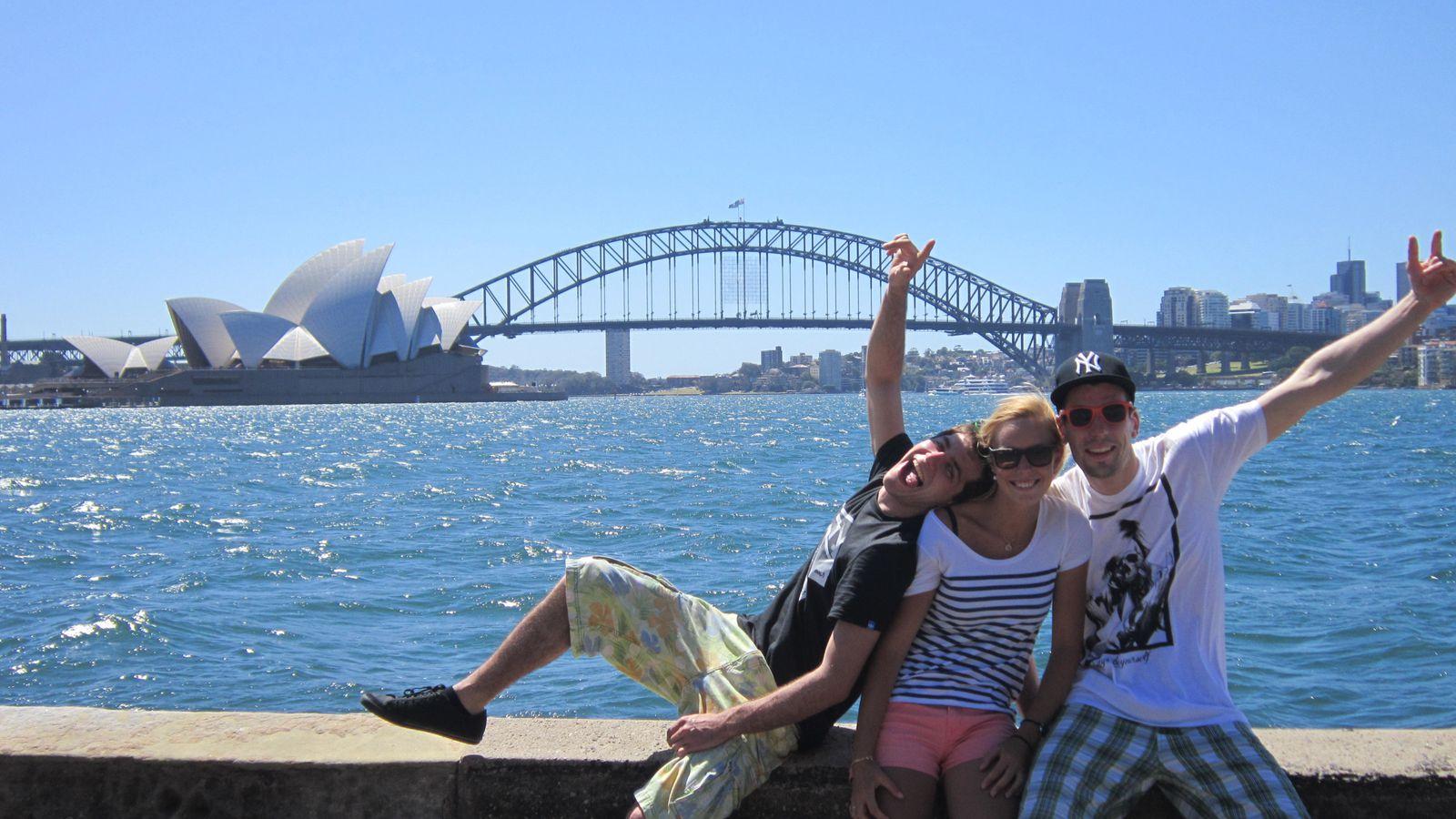 Sydney avec Nico & Max
