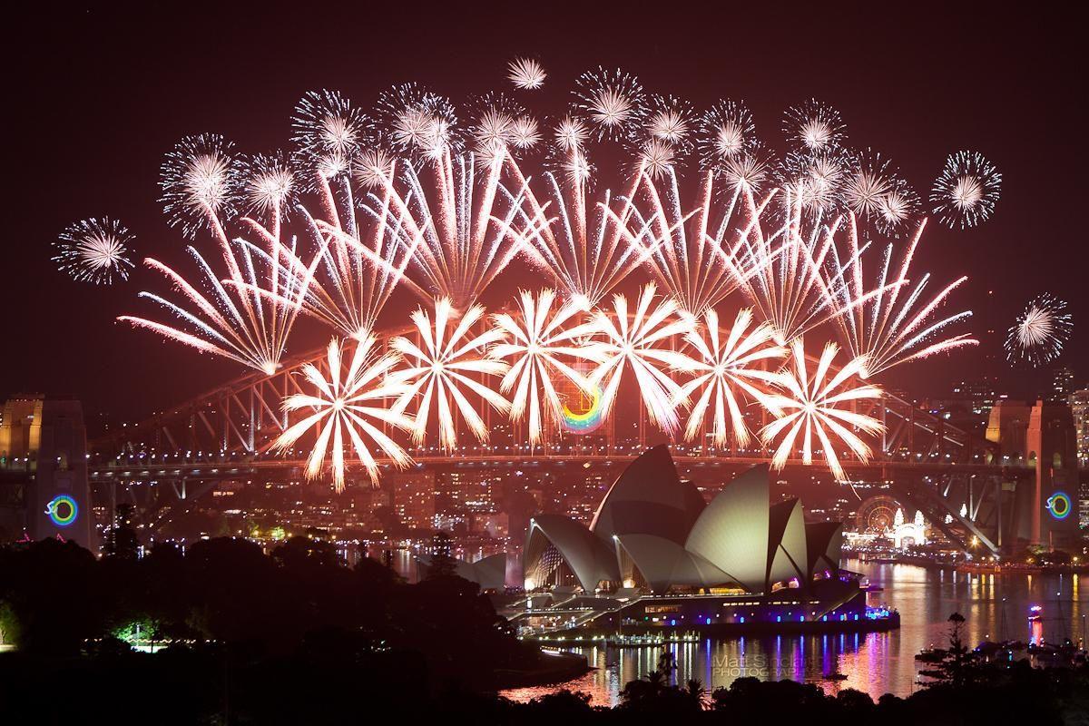 Photo officielle du Nouvel An 2013 à Sydney.