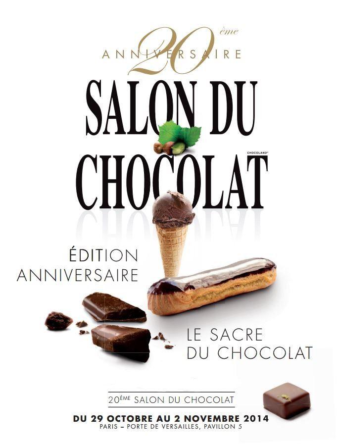 Je craque pour le chocolat et vous, craquez pour le salon du chocolat !