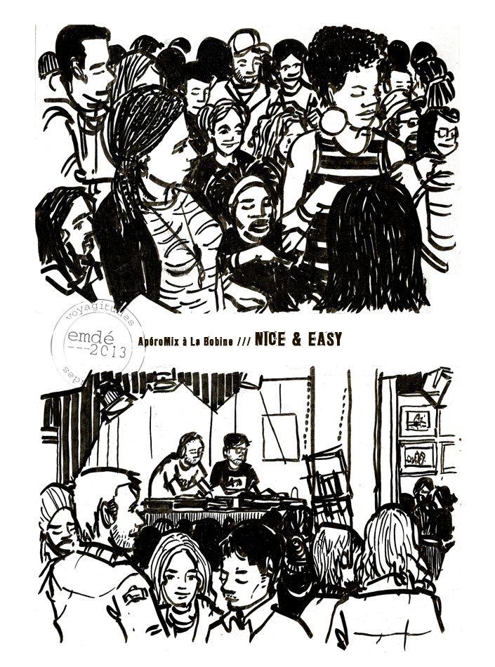 Croquis de Concert : Nice &amp&#x3B; Easy (again)