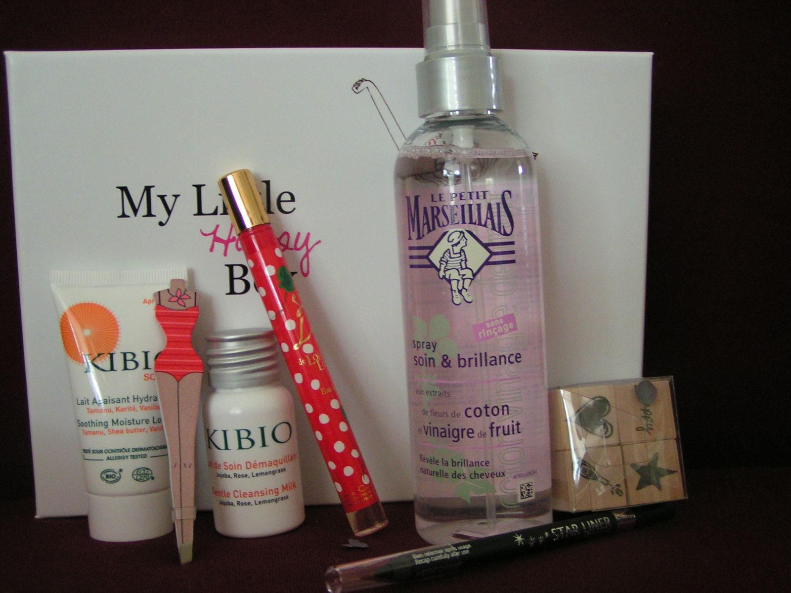 Mon premier test : &quot&#x3B;MY LITTLE BOX&quot&#x3B;