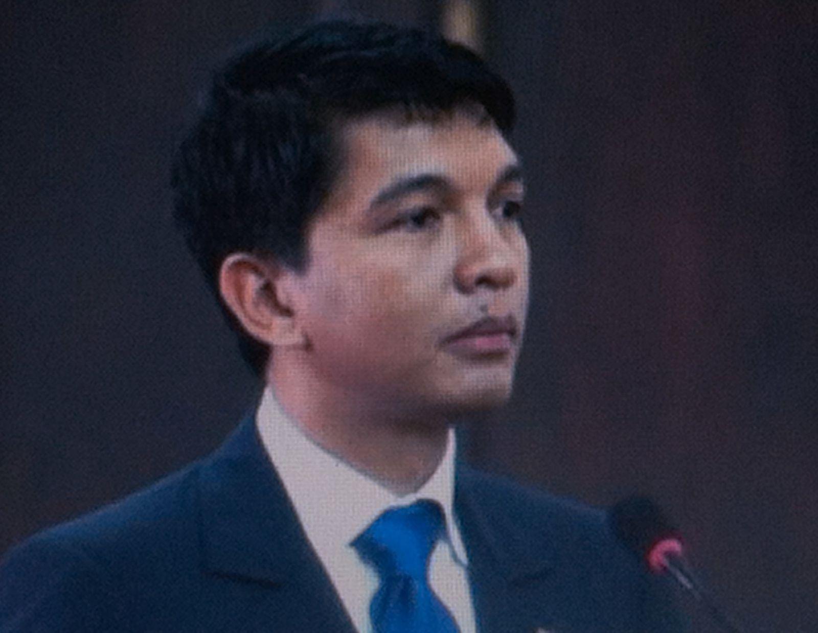 Andry Rajoelina, Président de la Transition de la République de Madagascar.