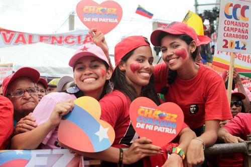 Le patriotisme au Venezuela n'a rien à voir avec le nationalisme réactionnaire des pays développés