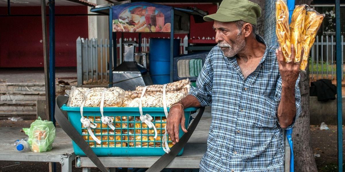 Photo Pixabay : Vendeur de rue, Maracaibo, Vénezuela