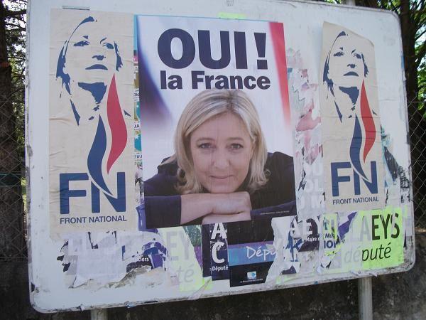 Le Front National s'affiche sur les communes de Buxerolles et de Bonnillet – 22 Juillet 2012