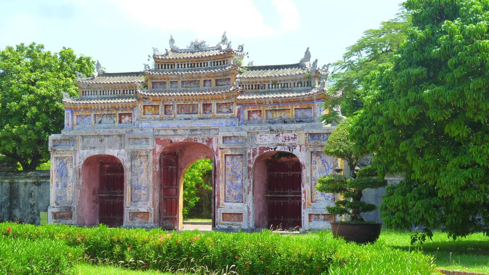Entre insolation et mousson, Hué