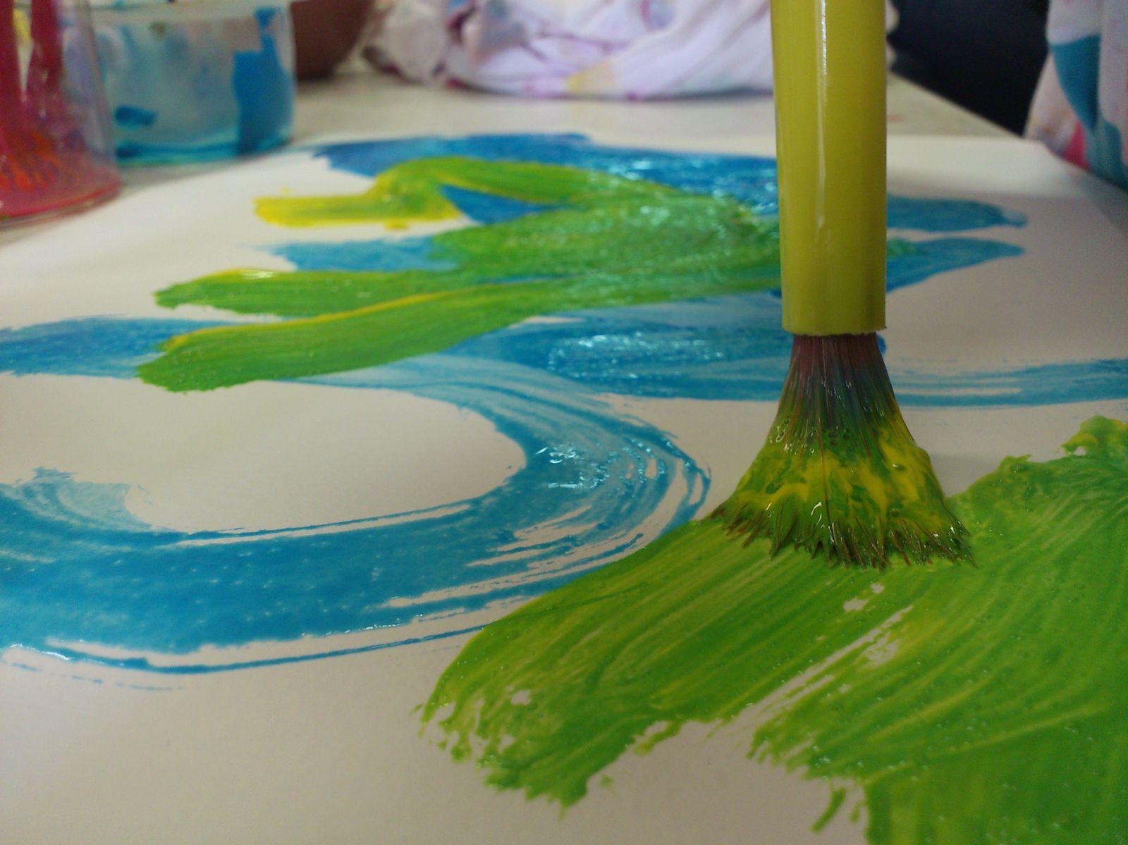 ......Atelier peinture.....