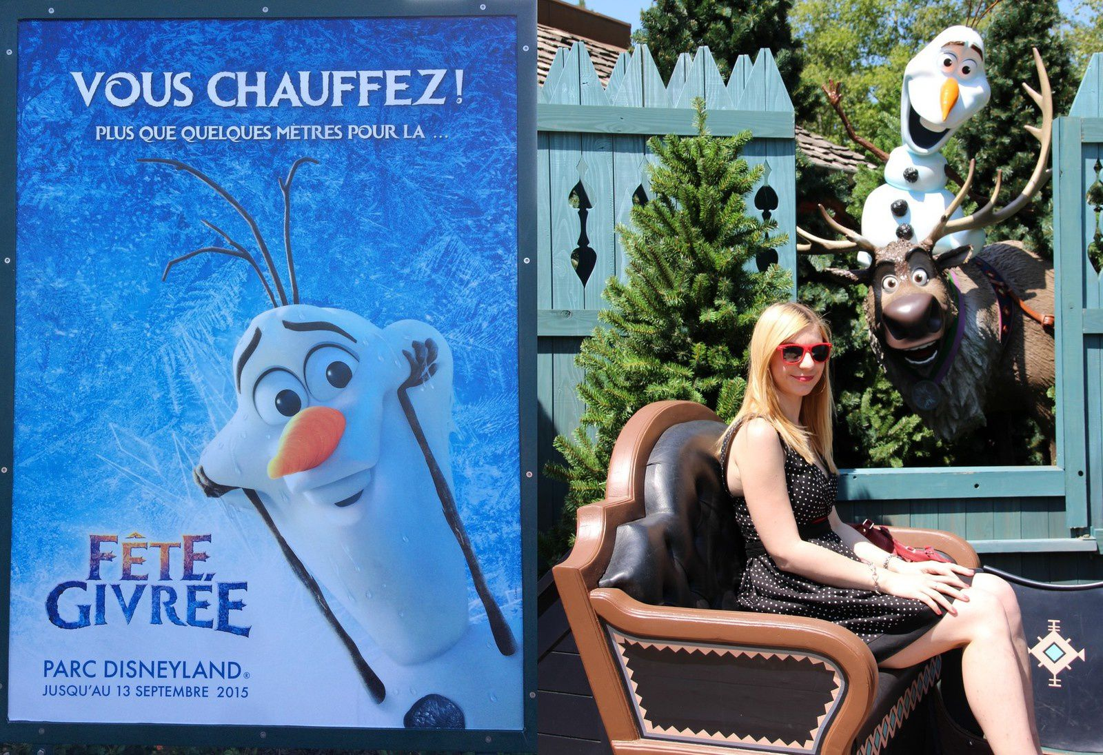 Comment survivre à Disneyland par un temps de canicule