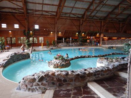 L 39 h tel davy crockett ranch disneyland paris les for Piscine hotel davy crockett