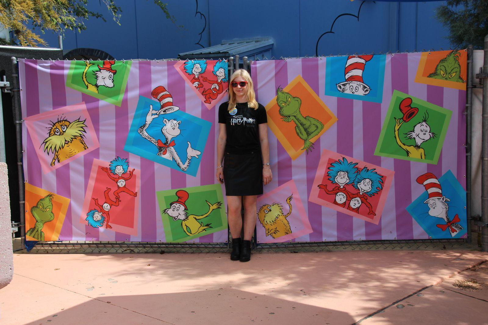 Les personnages de Dr Seuss