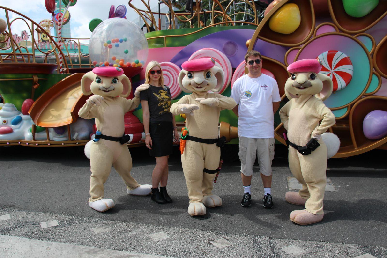 Universal Studios : les parades