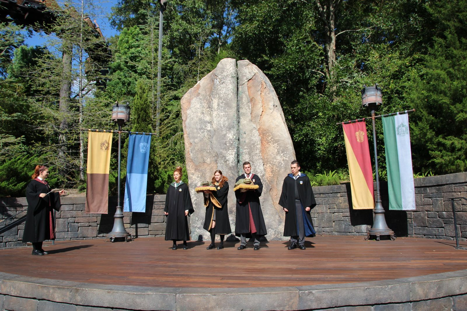 La chorale de Poudlard : The Wizarding World of Harry Potter