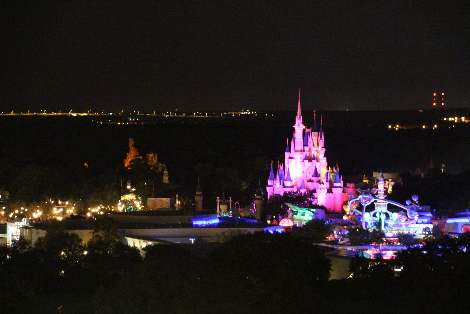 L'hôtel Disney's Contemporary Resort et son restaurant le California Grill