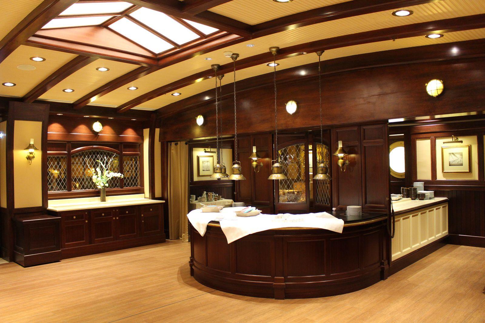 Le restaurant Yacht Club à Disneyland Paris