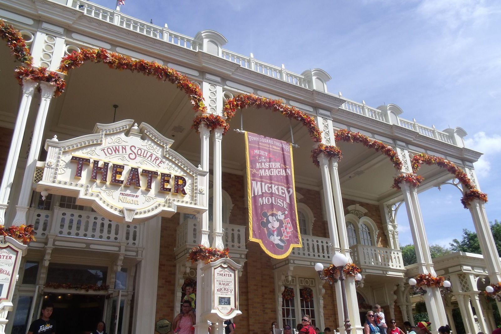 Magic Kingdom : Main Street, USA