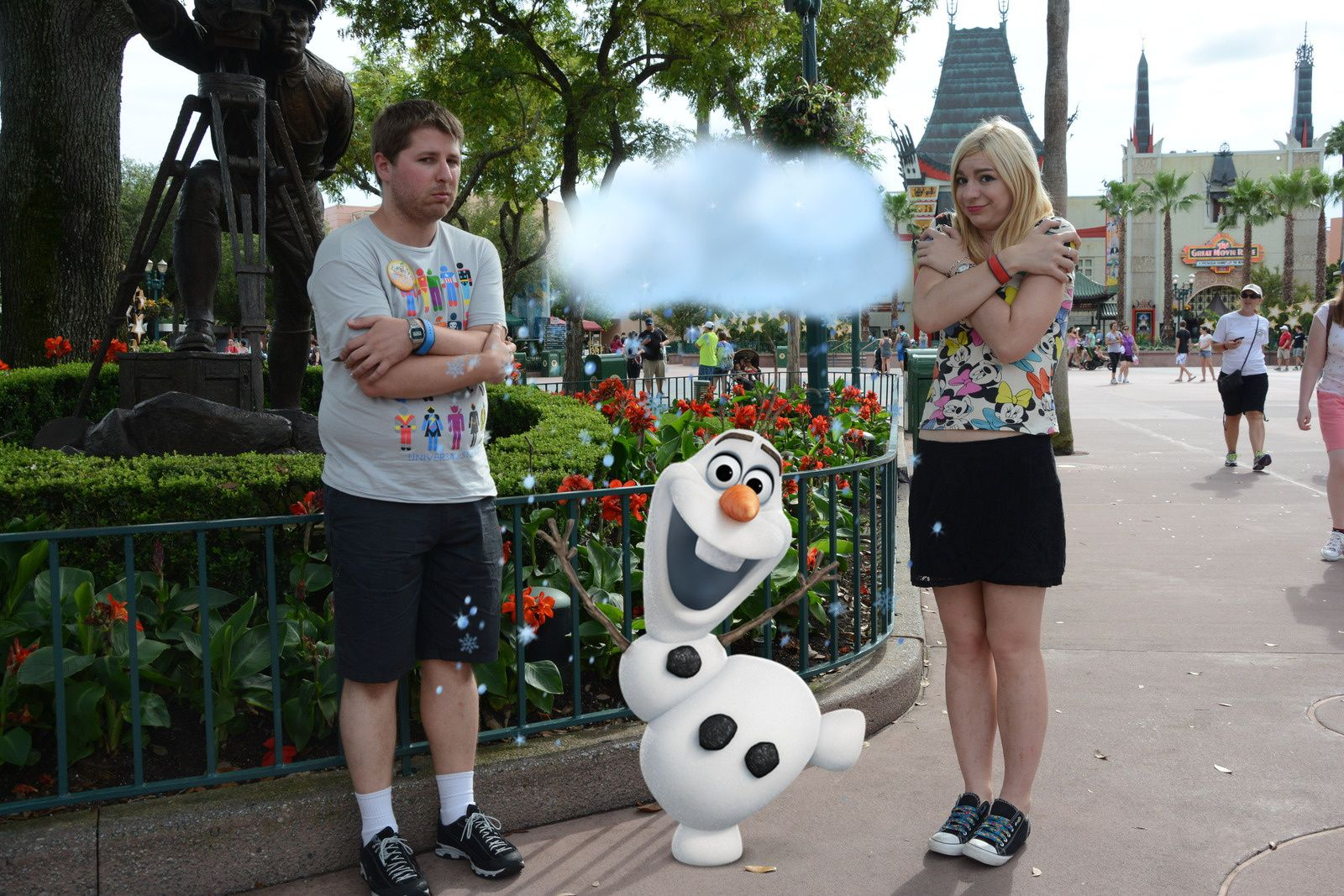 Olaf à Hollywood Studios