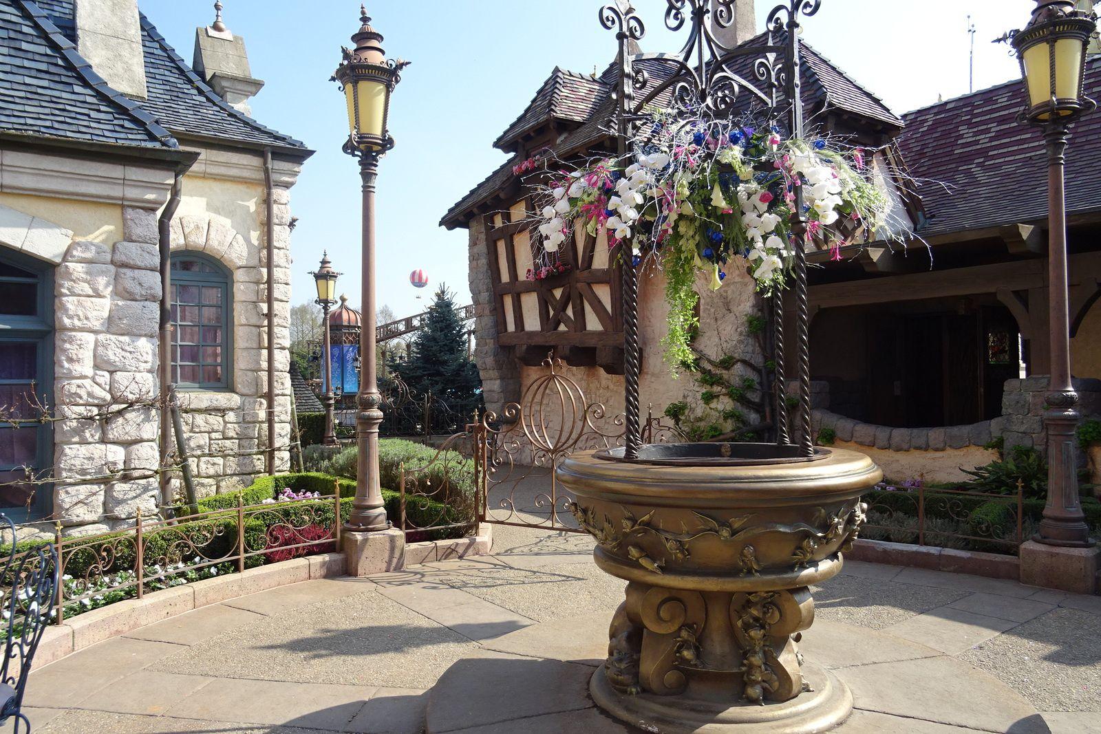 Les cadenas d'amour de Disneyland Paris