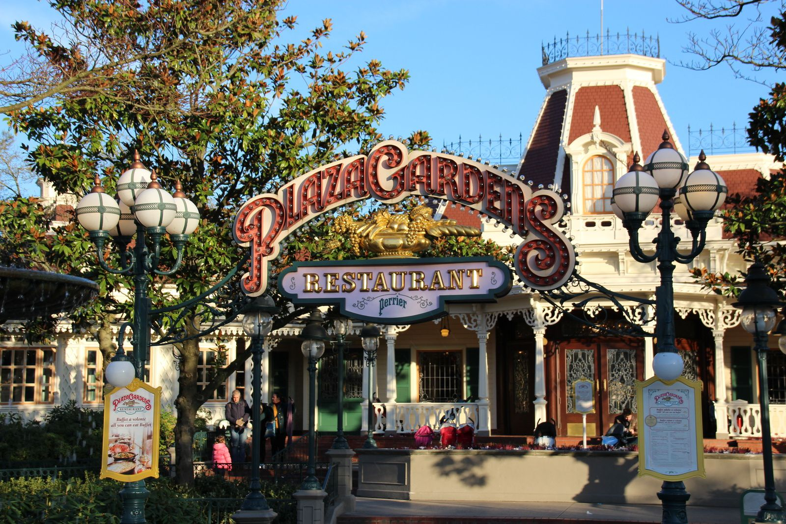 Les restaurants de Main Street U.S.A à Disneyland Paris