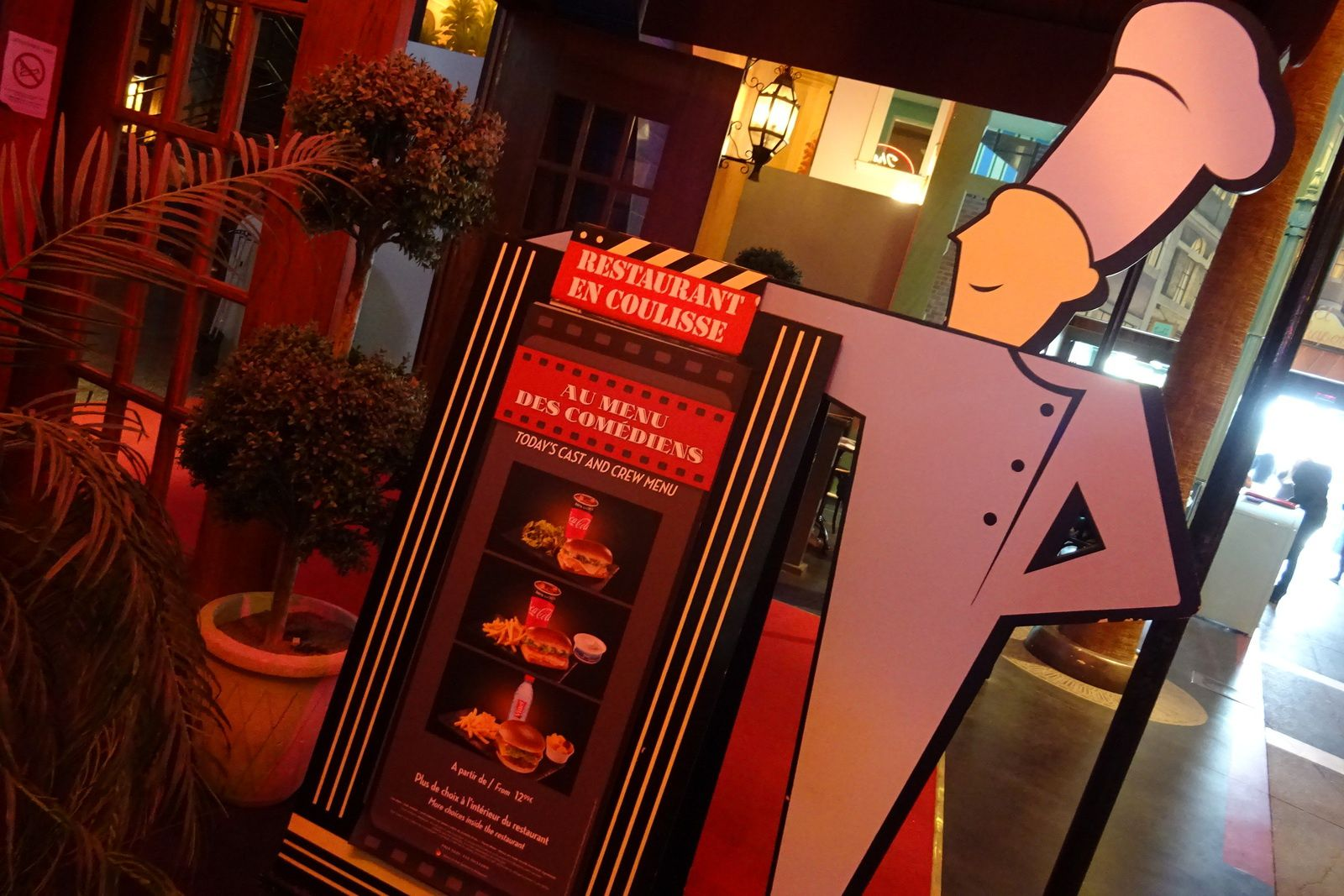 Les restaurants du parc Walt Disney Studios