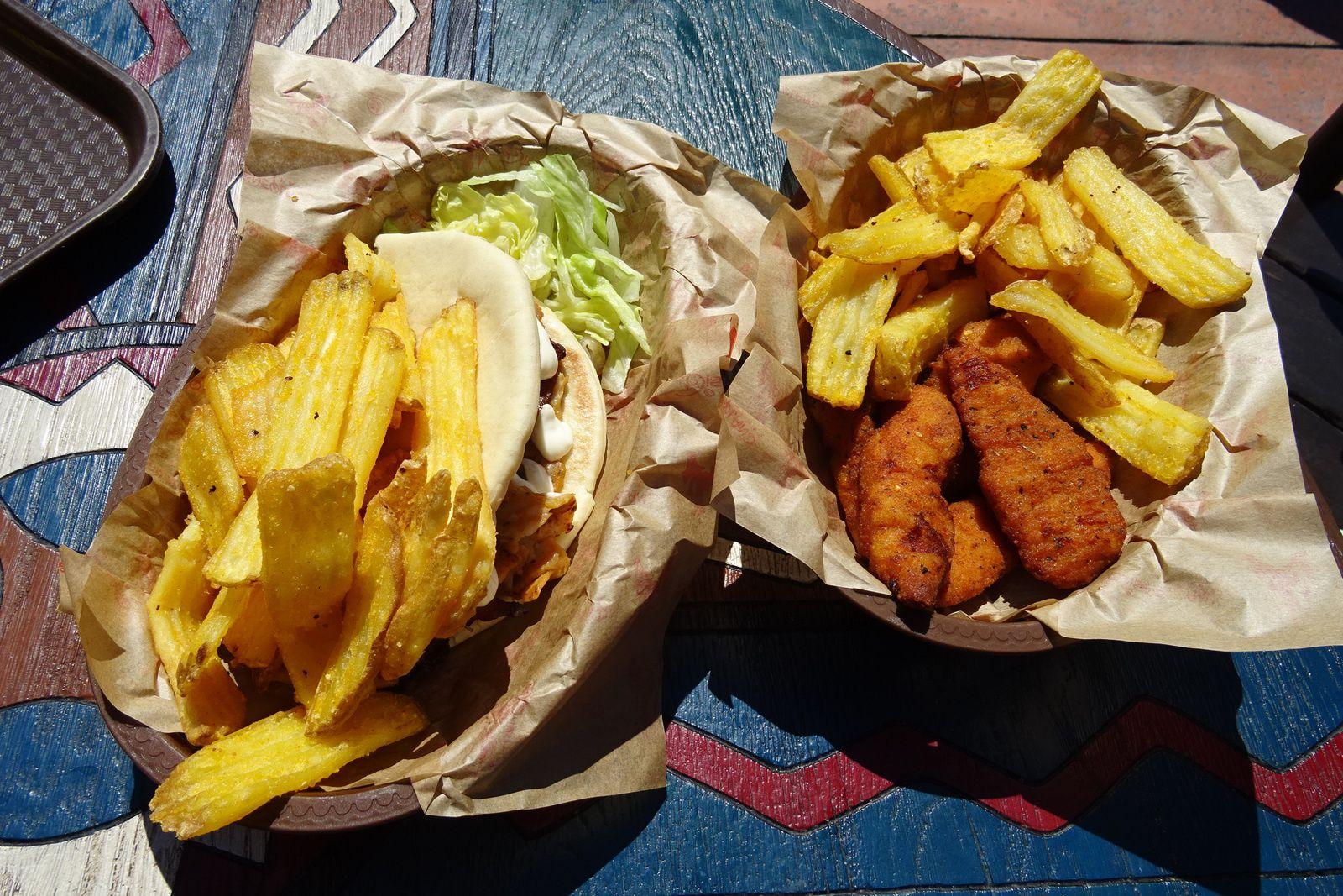 Les restaurants d'Adventureland à Disneyland Paris