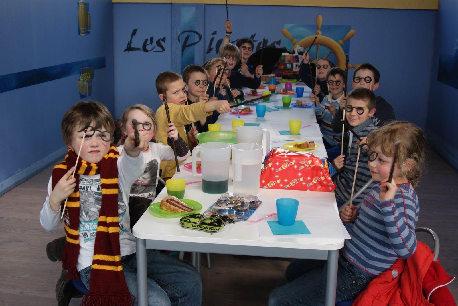 Anniversaire Harry Potter!