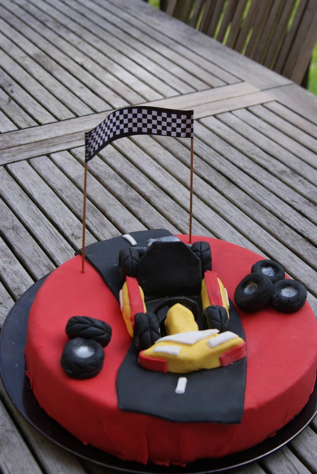 Gâteau Karting!