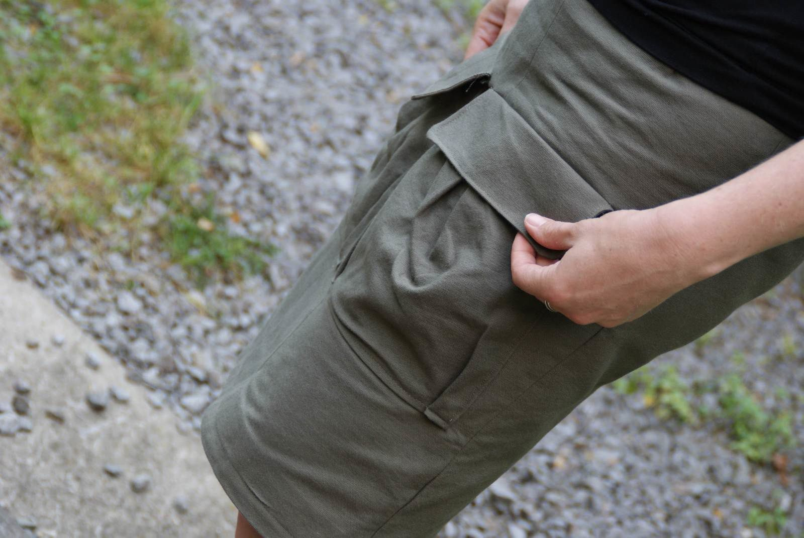 Battle Skirt, défi &quot&#x3B;Cousu main&quot&#x3B;