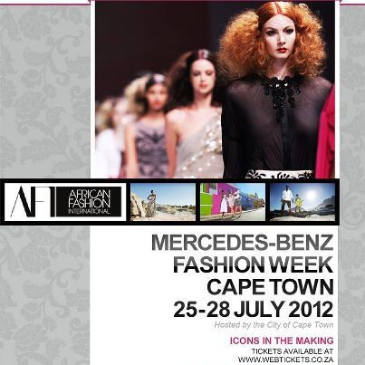 Mercedes-Benz Fashion Week Cape Town 2012