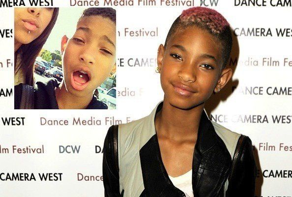 Willow smith tongue piercing