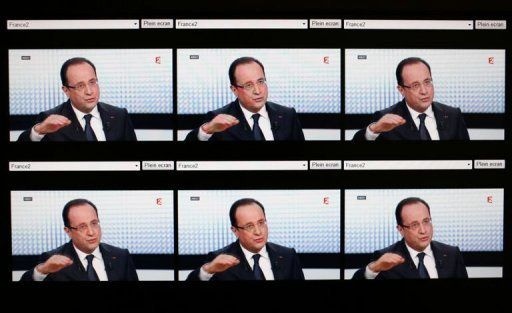 L'intervention de François Hollande