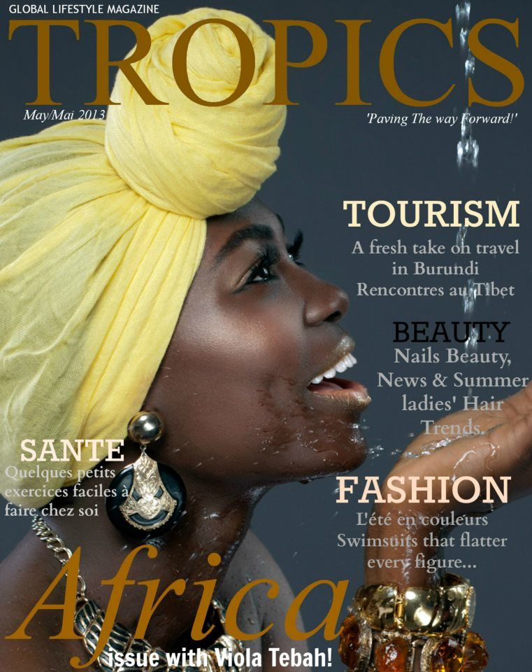 ~Credits~ Model: -Viola Tebah&#x3B; Photography: Ingo Dotsey-Photography&#x3B; Creative Design: Vénicia Guinot l Media Personality. Courtesy of Tropics Magazine.