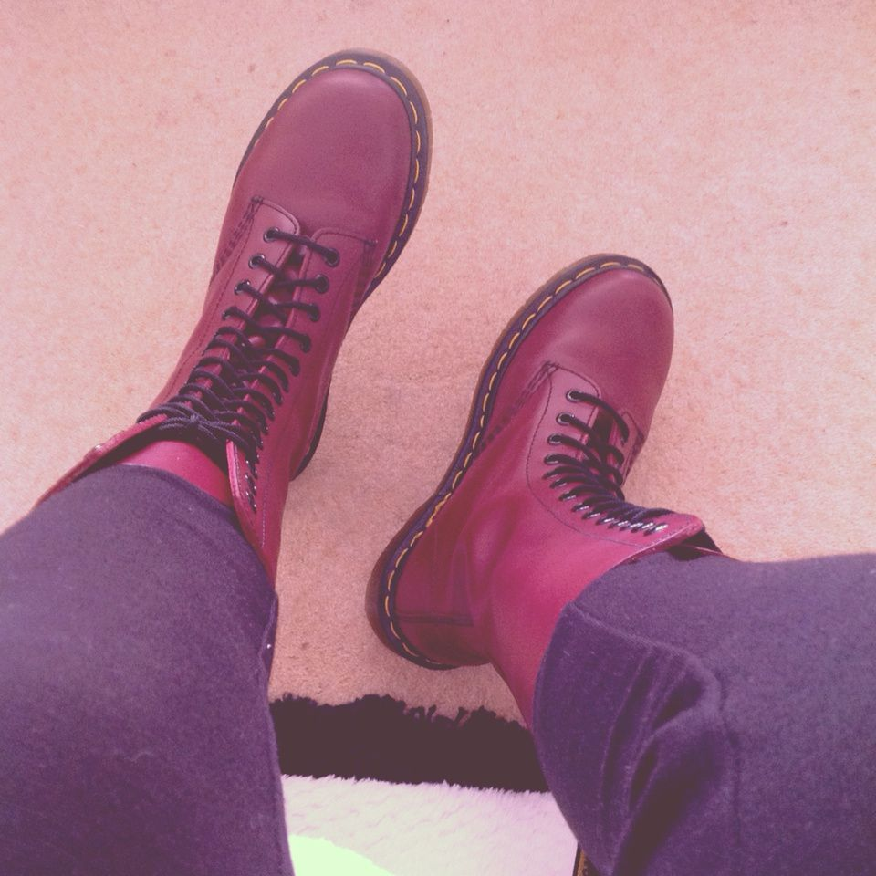 New Dr Marten's shoes !