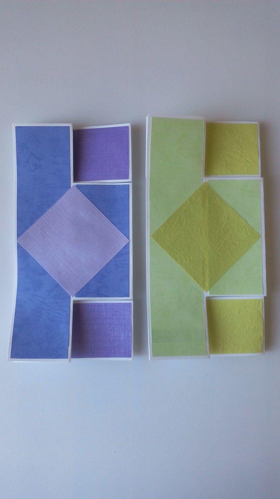 Sur le même modèle de carte, avec d'autres couleurs