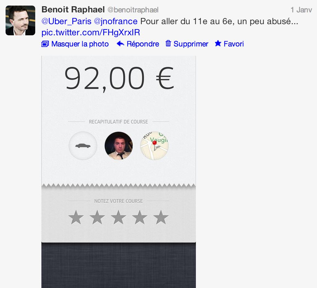 Taxi et réveillon : Valérie Damidot contre Uber. Radioscopie d'un plantage marketing