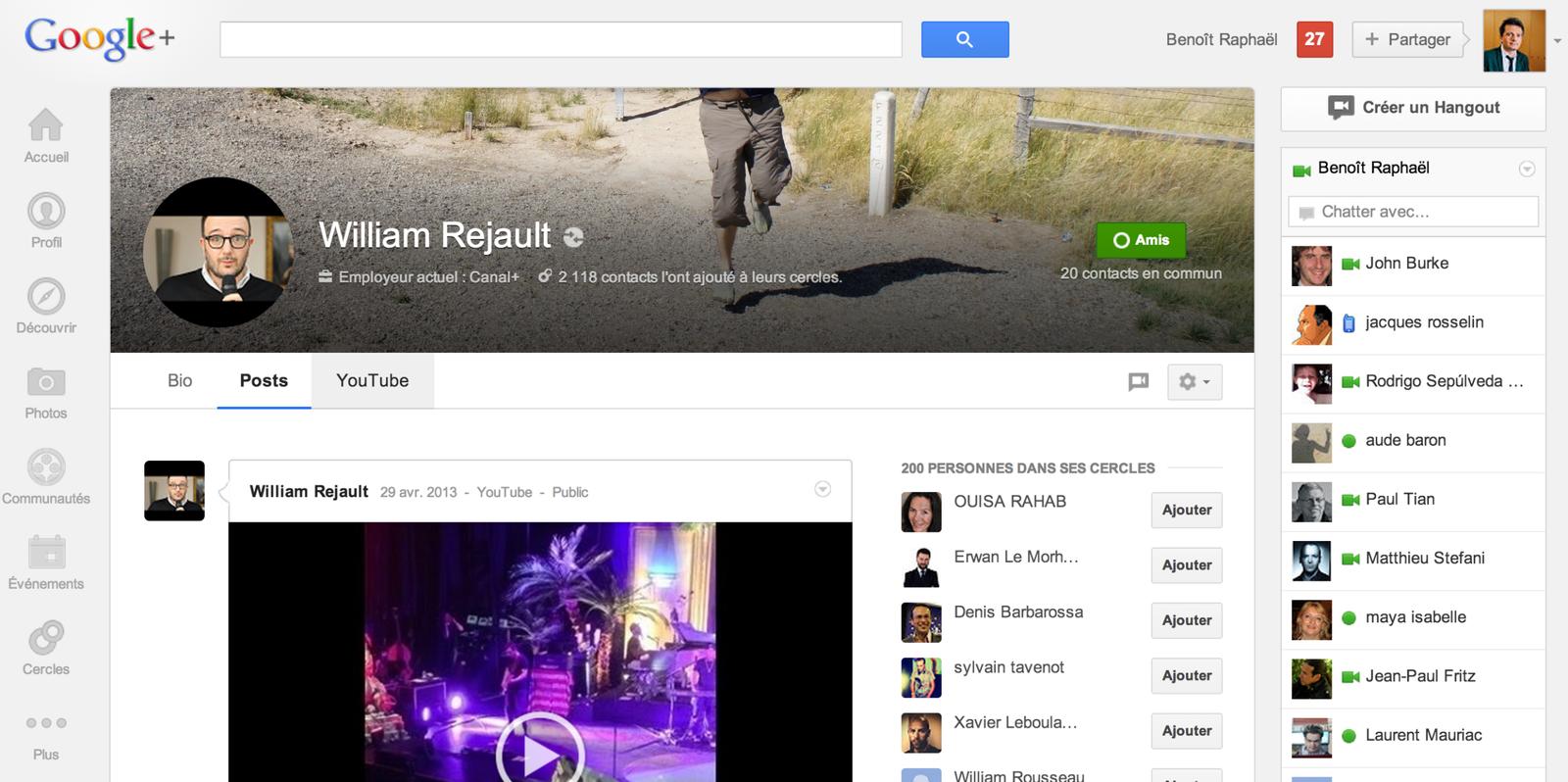 Comment Google a réussi son virage social