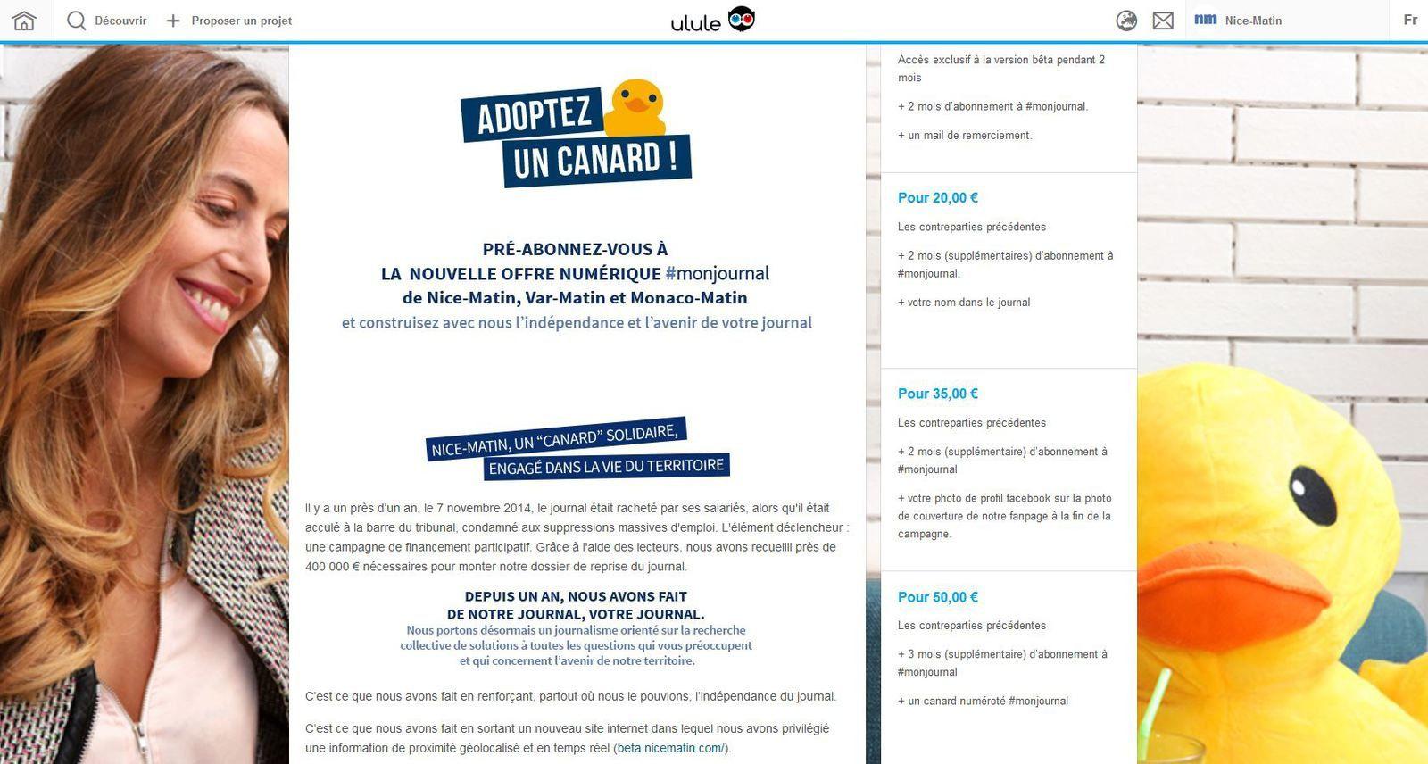 Découvrez pourquoi Nice-Matin et Var-Matin ont choisi le financement participatif pour lancer leur offre abonnés