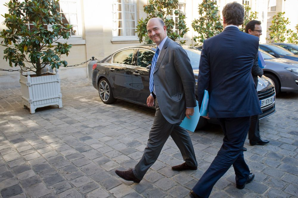 Moscovici et Montebourg