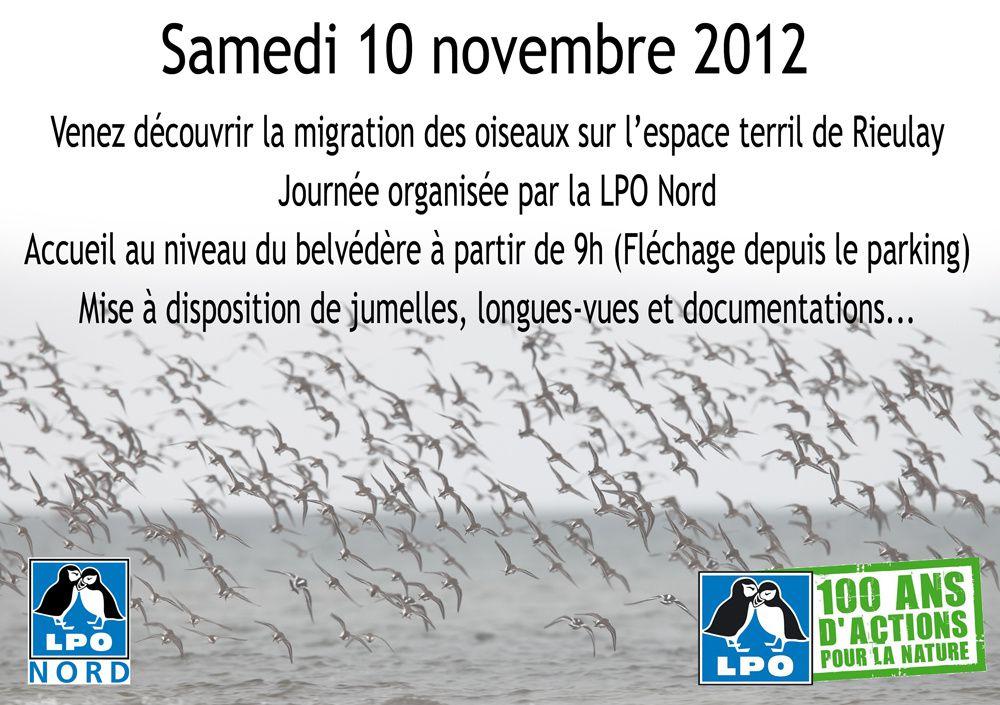 La journée migration c'est ce samedi !
