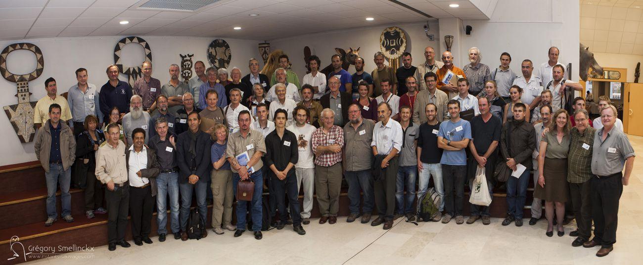 La photo de groupe des participants au colloque...