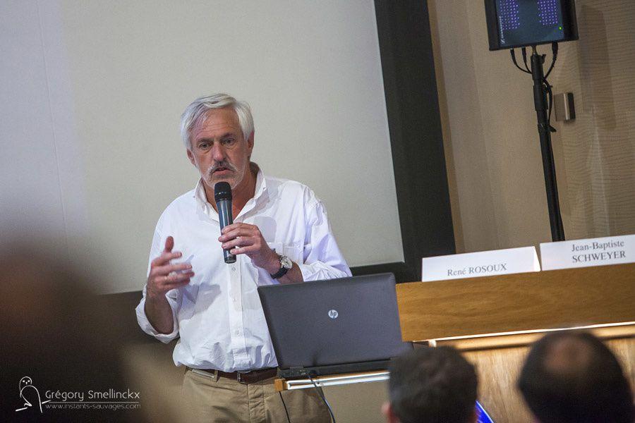 René Rosoux, directeur scientifique du muséum d'Orléans