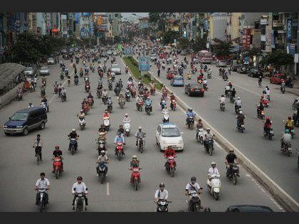 Pas besoin des rond points comme au Vietnam