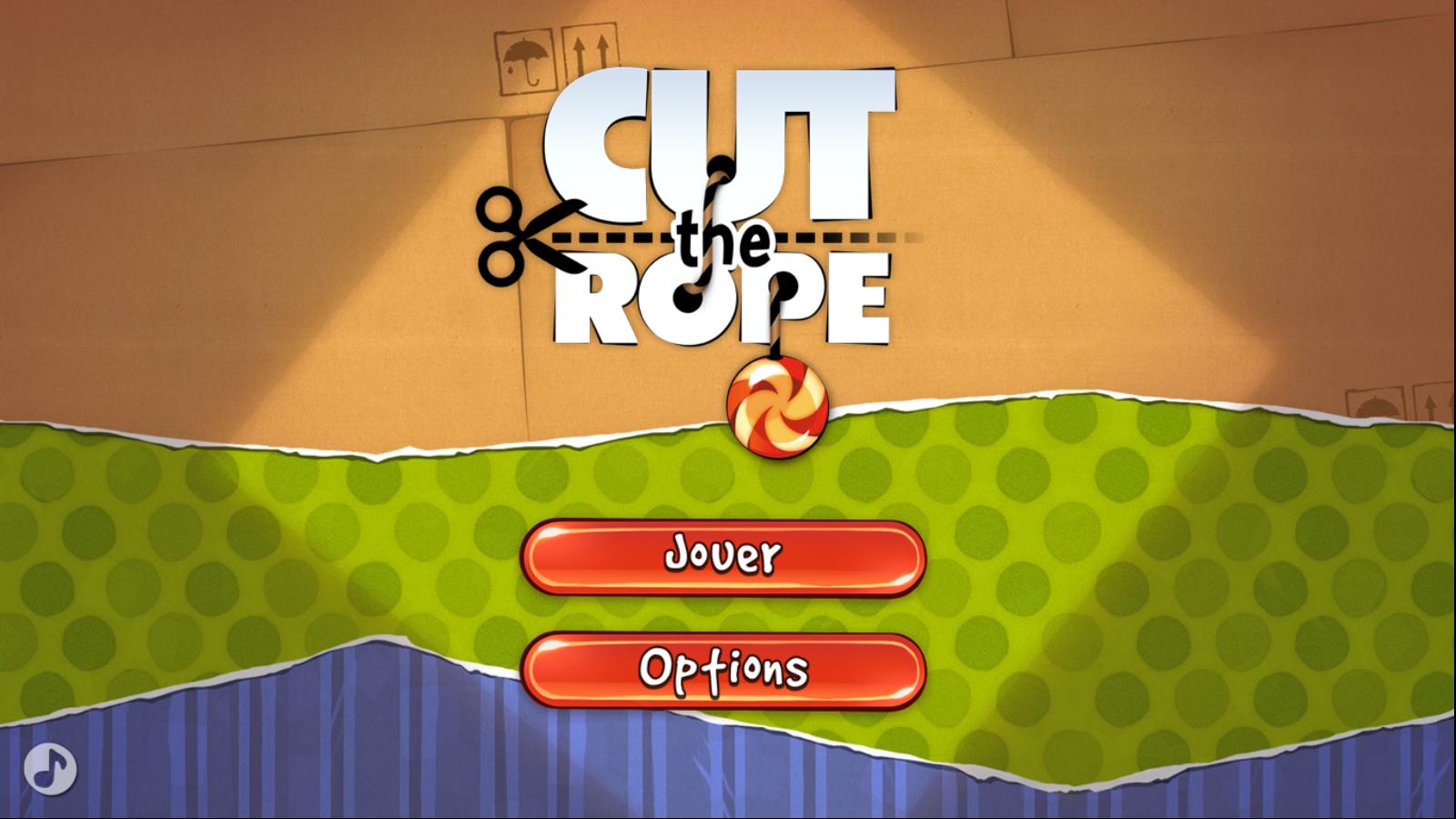 Démonstration Cut the Rope pour Windows 8