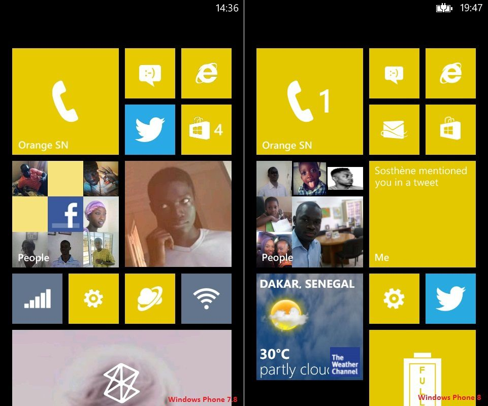 From Windows Phone 7.8 to Windows Phone 8